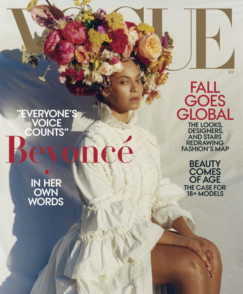 Beyonce S Vogue Cover Is Historic But Not Iconic The Washington Post